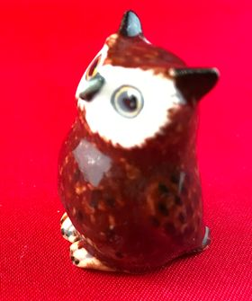 1:6 Brown Owl (34mm Tall)