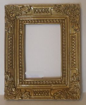 Resin Frame Brass (63 x 50 x 6mm)