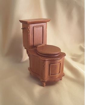 Part of Set Toilet