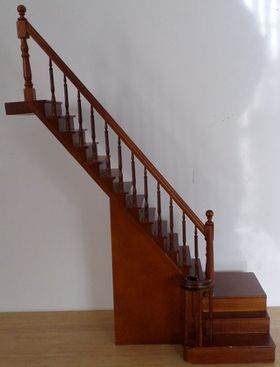 Complete Staircase Left  with turn (265mm)
