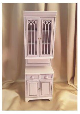 """Cambridge Manor Single Cabinet White Wash (2-5/8""""W x 1-11/16"""" D x 7-9/16"""" T)"""