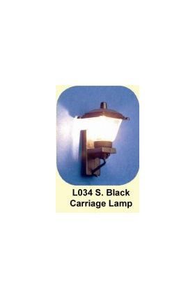 Lights Wall - Small Black Carriage Lamp