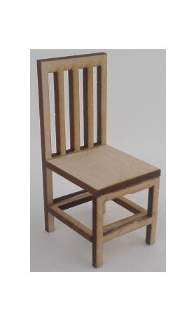 1:24 Laser Cut Dining Chair Kit