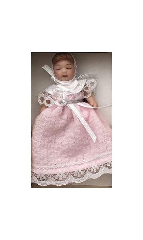 Baby in Pink Doll