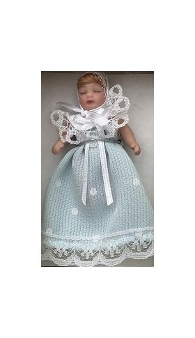 Baby in Blue Doll