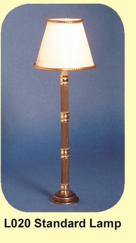 Standard Floor Lamp with Georgian Turned Stem Light (117mmH)