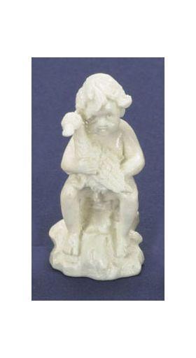 "Boy with Ducks White (1.625""H) (Price Each)"