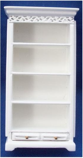 1:24 Tall Shelves Cream