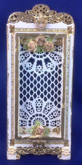 Lace Screen by Petite Romantique (55W x 130H x 7Dmm)