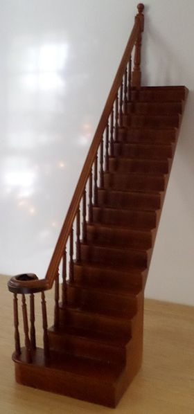 Complete Staircase Left  Straight (252mm)
