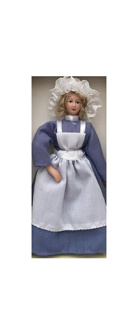 Cook Doll in Blue Dress