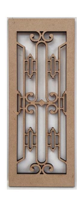 Art Deco Panel (66 x 170mm)