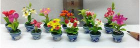 1:24 or Small 1:12 Flower Pot (Price Each) (25-30mmH)