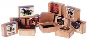 "Cigar Boxes Assorted (Price Each) (0.25""H x 0.75""W x 0.625""D)"