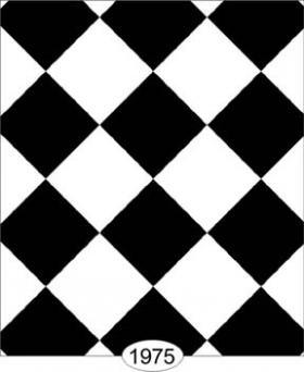 Tile Black And White Diamond 05inch Wallpaper