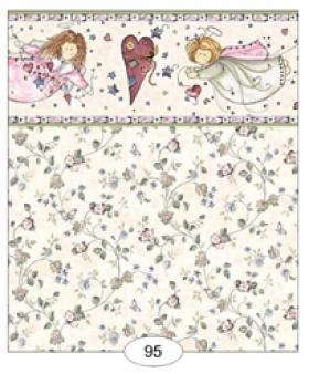 Angels Green Wallpaper (267 X 413mm)