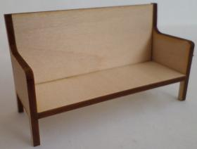 1:24 Laser Cut Couch Kit