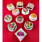 Cakes (Price Each) (32mm Diam/Sqr 18mmH)