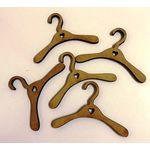 1:6 Coat Hangers with Heart Set 5 (75mmW)