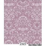 Annabelle Damask Purple Orchid Wallpaper (267 X 413mm)