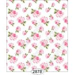 Tea for Two - Floral Toss White Wallpaper (267 X 413mm)
