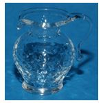 Clear Crystaline Cream Jug (20mmH)