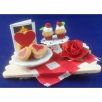 Valentine's Cake Tray by Anastasia's Dreams