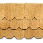 Cedar Shingles Hexagonal 140Pk = 0.75SF