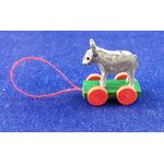Pull Along Donkey Toy (15L x 11W x 18Hmm) by Cinderella