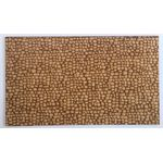 1:12 Laser Cut Cobblestone Sheet (Quarter Size Sheet) (232.5 x 137mm)