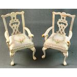 French Chairs Pair by Petite Romantique