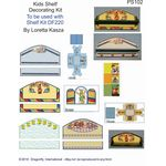 Kids Decorator Sheet by Dragonfly to Fit DF220