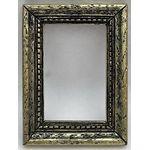 Resin Frame Gold/Black (70x52x6mm)