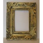 Resin Frame Gold with Black Detail (63 x 50 x 6mm)