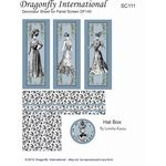 Blue Ladies Decorator Screen by Dragonfly