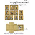 Gentlemen Decorator Screen by Dragonfly