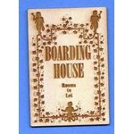 Boarding House Sign by Dragonfly