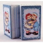 Ann and Andy Blue Doll Trunk Kit by Dragonfly