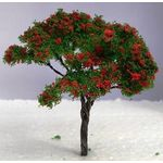 9cm Tree with Red Flowers