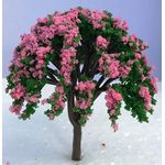 8cm Tree with Pink Flowers