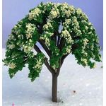 7cm Tree with Cream Flowers
