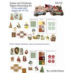 Decorator Sheet - Easter and Christmas by Dragonfly