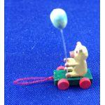 Pull Along Bear Toy (11L x 8W x 23Hmm) by Cinderella