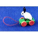 Pull Along Rabbit Toy (15L x 11W x 20Hmm) by Cinderella