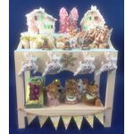 Christmas Display Stall by Lynne's Minis (85W x 50D x 110Hmm)