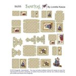 Sheet of Sewing Boxes  by Dragonfly