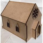 1:24 Laser Cut Church Kit
