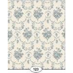 Blue Toile de Juoy Wallpaper (267 X 413mm)
