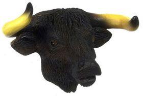 """Buffalo Head (1.625""""H x 2.25""""W x 1.25""""D)"""
