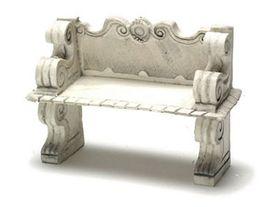 """Victorian Bench Grey (3""""H x 1.75""""W x 4.125""""D) (Price Each)"""